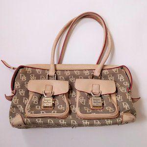 Dooney Bourke Shoulder Bag Purse Lock pocket